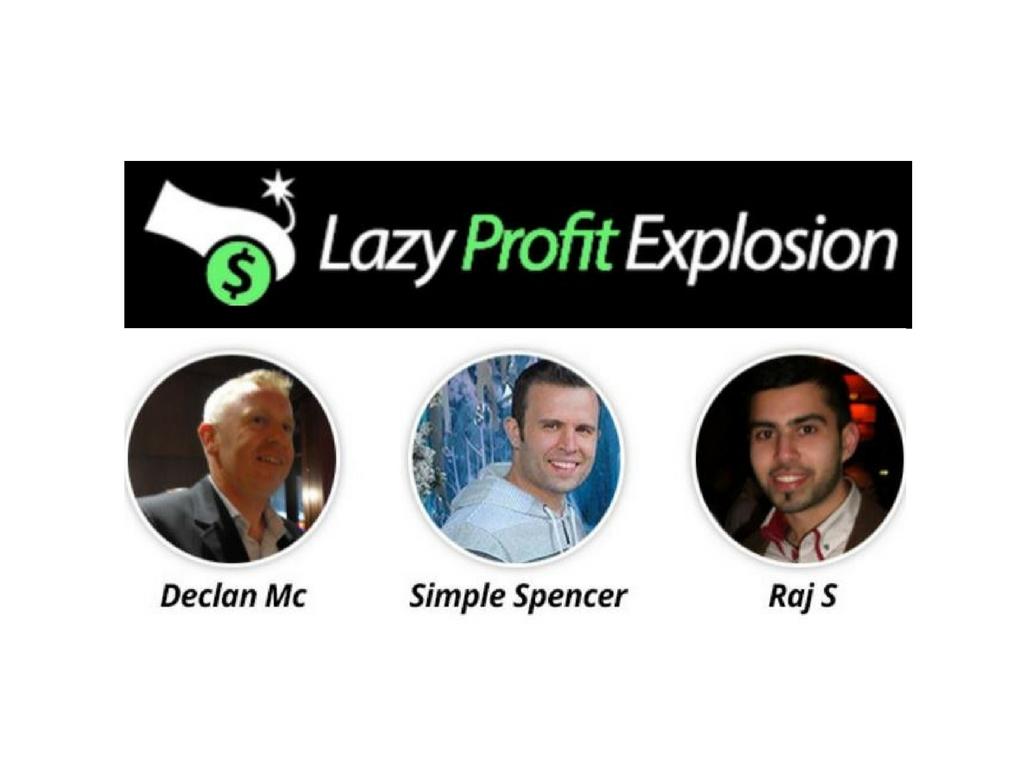 Lazy Profit Explosion Review