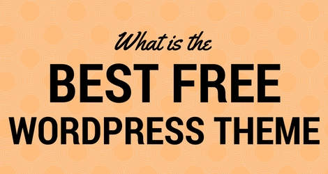 What is the best free Wordpress theme