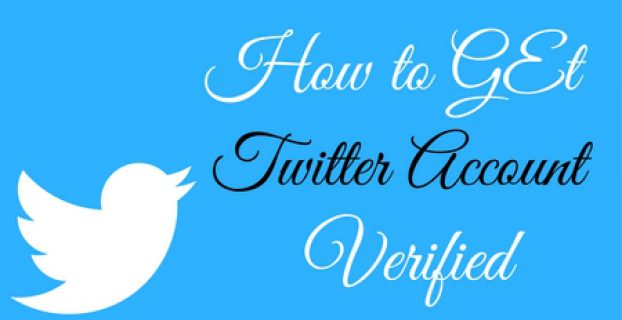 How to get Twitter account verified