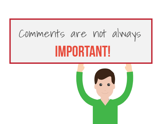 Are Comments Important for Traffic & Sales?